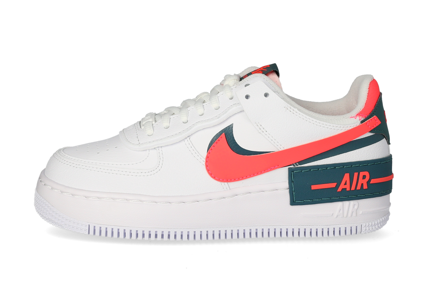 Nike Air Force 1 Shadow Femme Solar Red - Chaussures Baskets femme ...