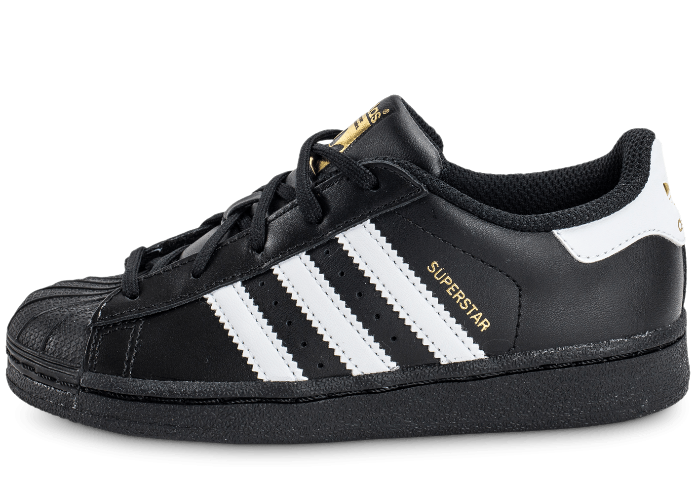 superstar noir adidas