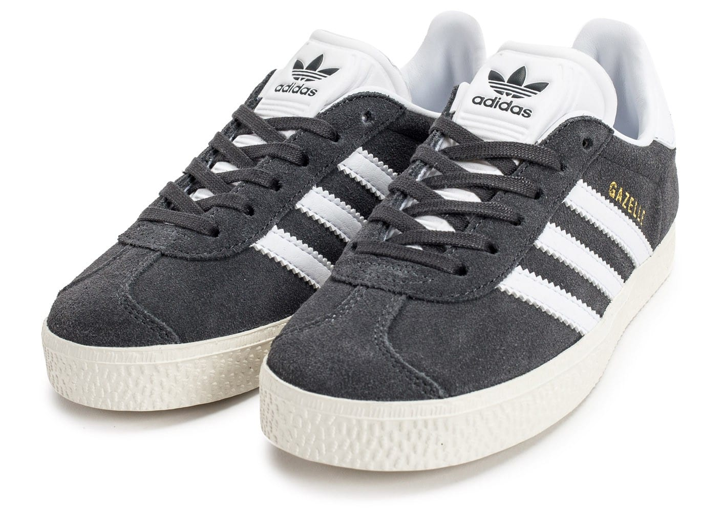 taille 40 3774d 75ef0 adidas Gazelle 2 Enfant grise - Chaussures adidas - Chausport