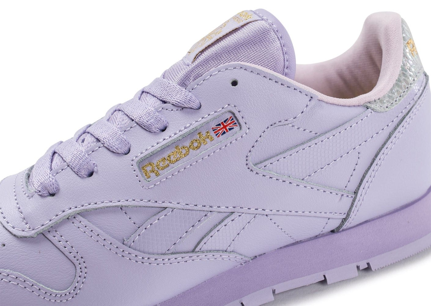 218680f3dad Reebok Classic Leather Metallic mauve - Chaussures Chaussures ...