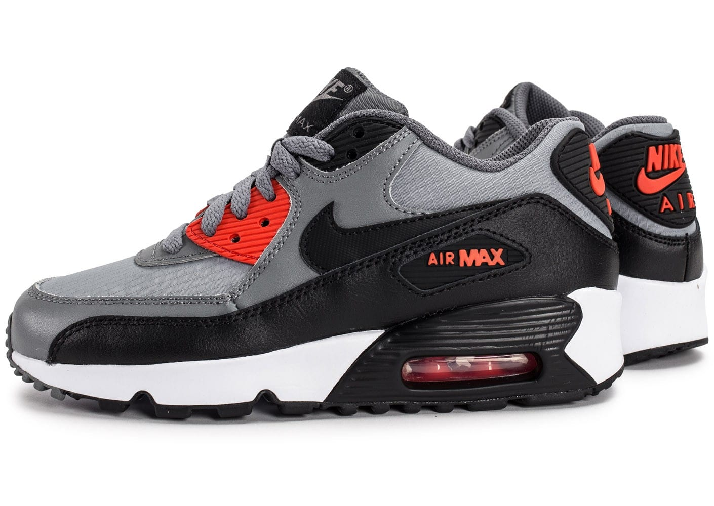 Nike Air Max 90 Mesh Junior anthracite Chaussures Enfant