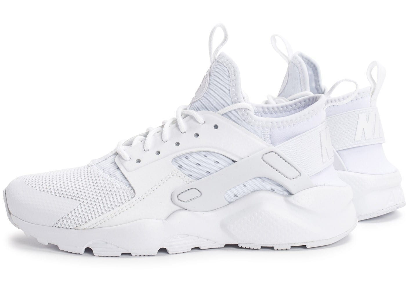 Chaussures Baskets Ultra Run Cool Junior Huarache Air Blanche Nike aqwO00