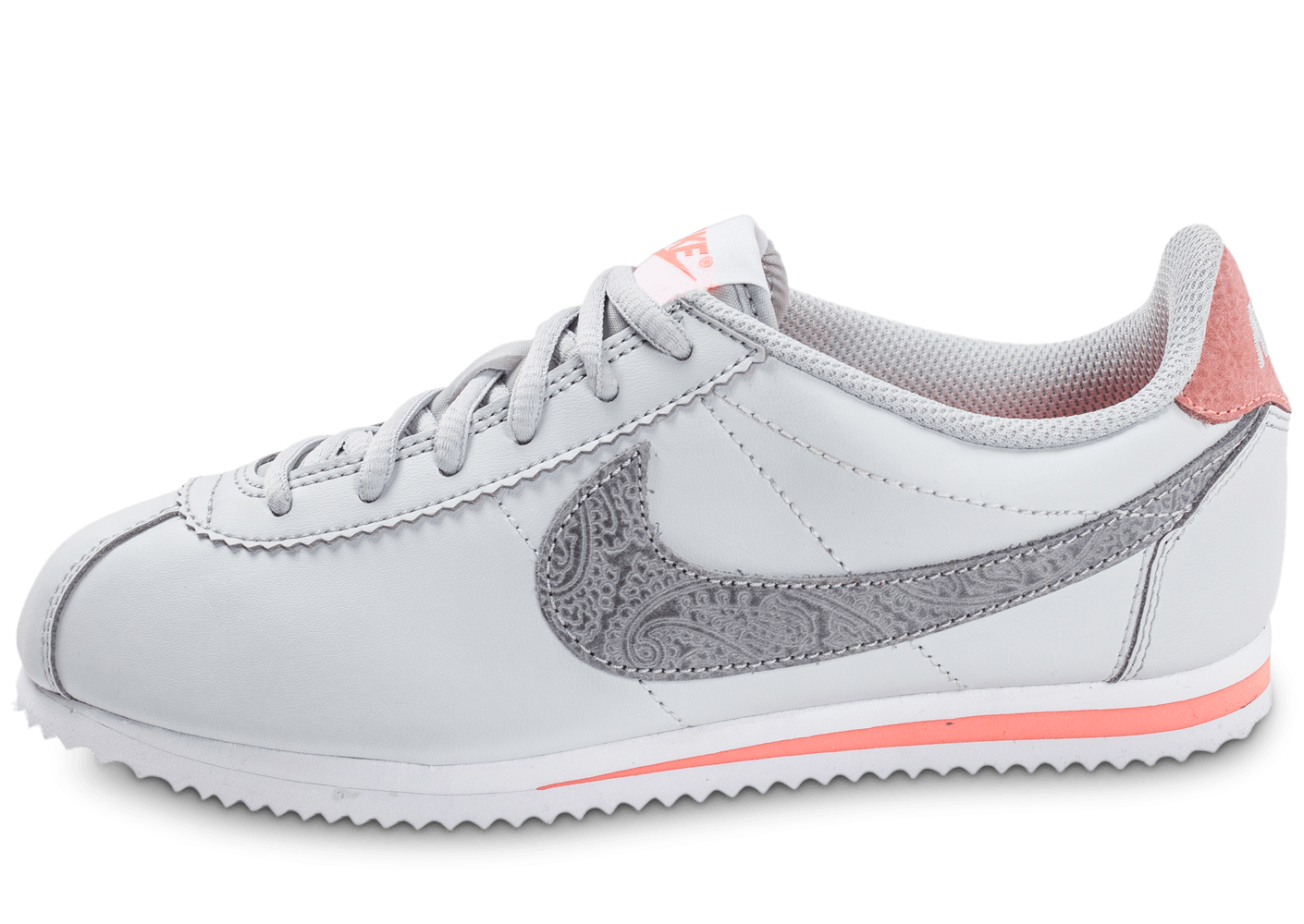 outlet store 95768 bd0f9 ... cheapest nike cortez se junior grise chaussures enfant chausport 75b7b  b496a