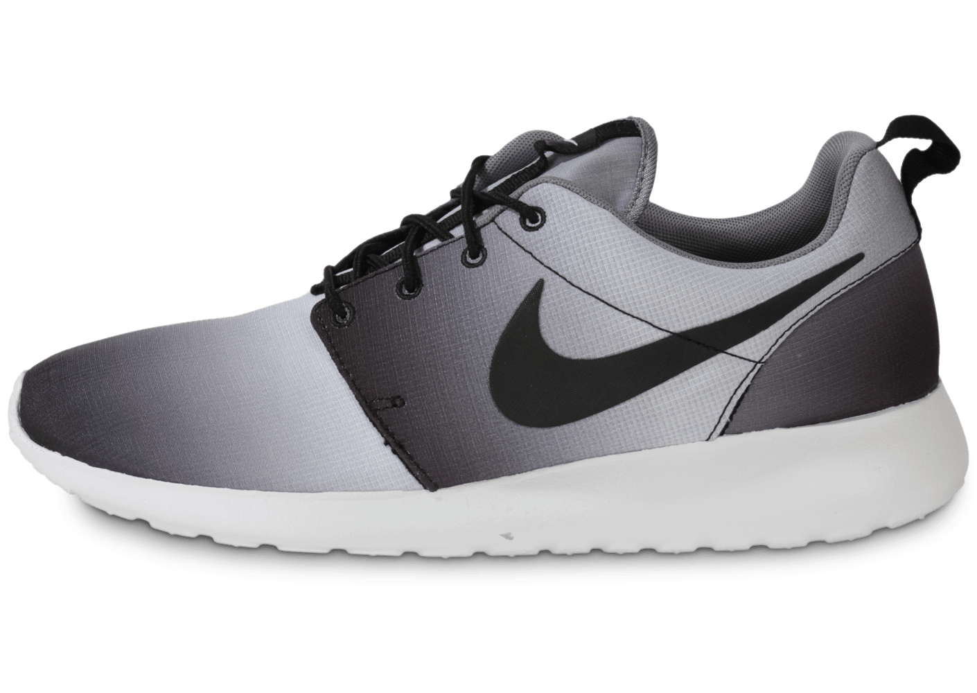 huge discount d3a59 5f405 Nike Roshe Run Print Faded Noir Blanc - Chaussures Baskets homme - Chausport