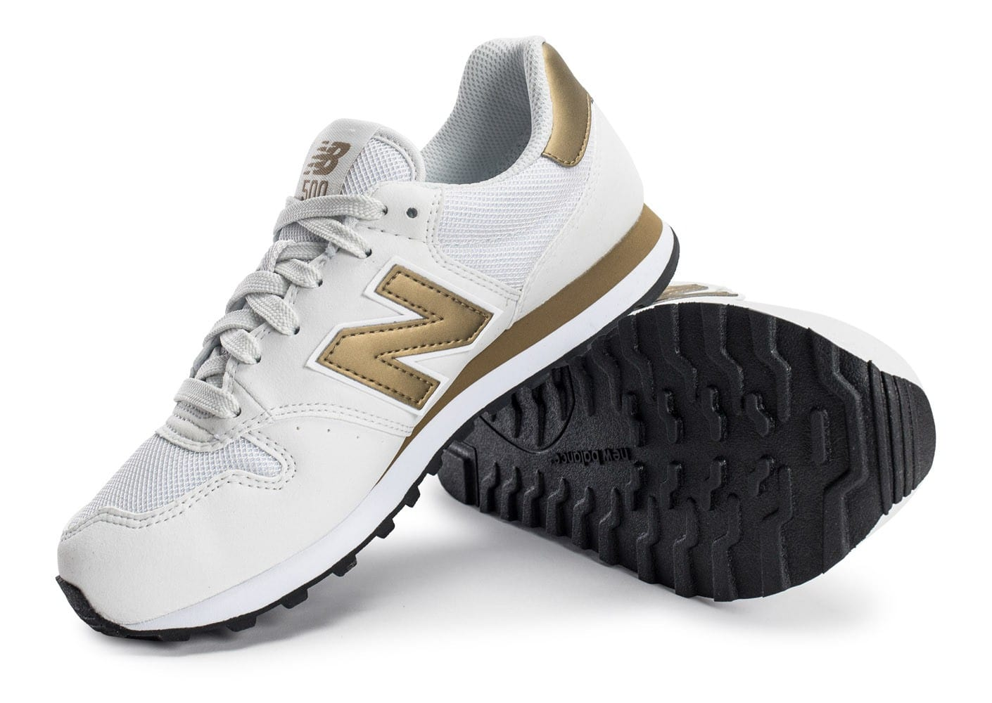 New Balance GW500 WG blanc et or Chaussures Chaussures
