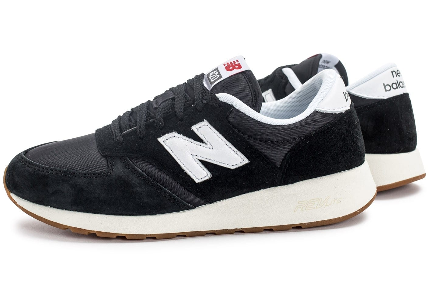 check-out fd897 aa5d9 New Balance MRL420SD noire et blanche - Chaussures Baskets ...