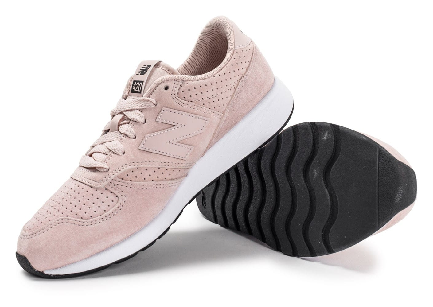 Chaussures Balance Baskets Mrl420sk Dusty Leather Femme New Pink PZXuki