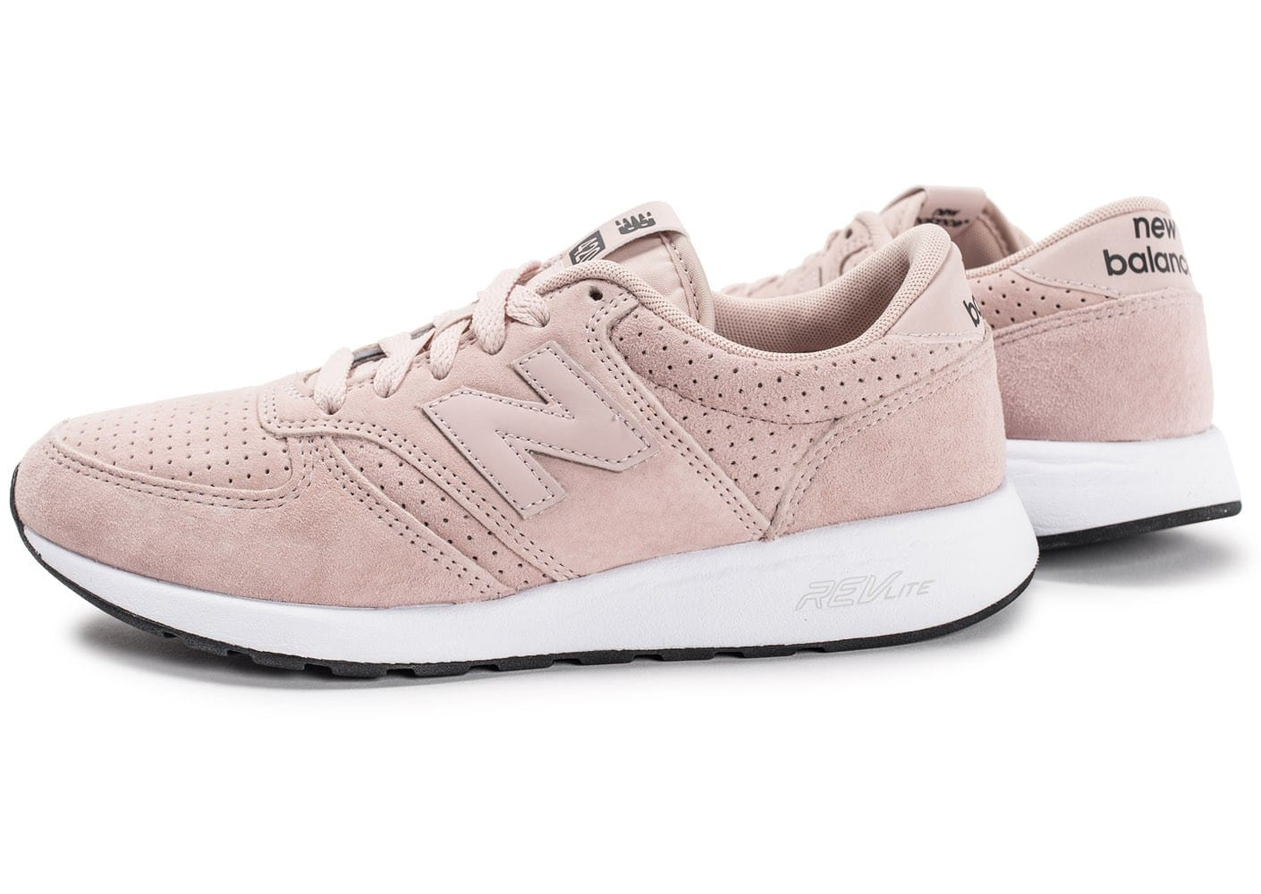 Balance Pink Dusty Mrl420sk Femme Chaussures Leather Baskets New pSPvWdP