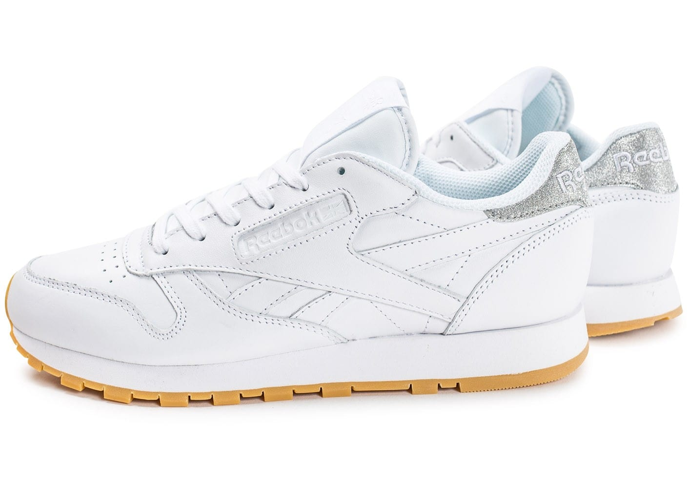 Chaussures Reebok Classic Leather blanches femme WmcDBN