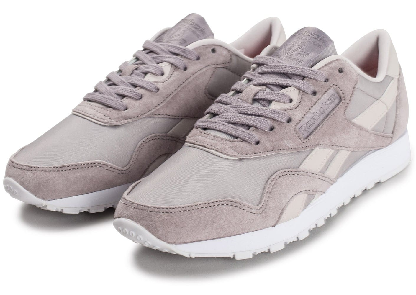 Reebok Classic Nylon Face Stockholm grise Chaussures