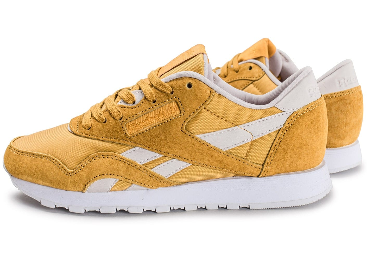 Reebok Classic Nylon Face Stockholm jaune Chaussures