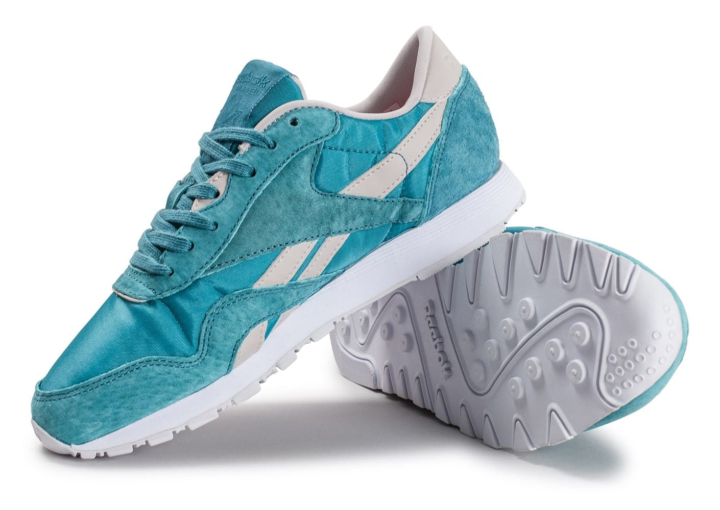 Reebok Classic Nylon Face Stockholm bleue Chaussures