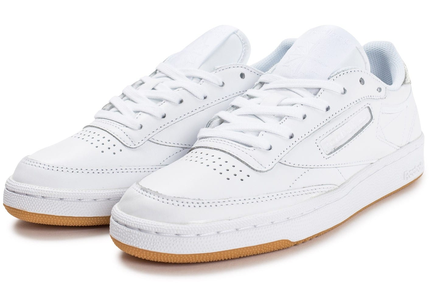 e1db1b3c59b Baskets Mode Reebok Club C85 Blanc k1AUbaKO - groupemms.com