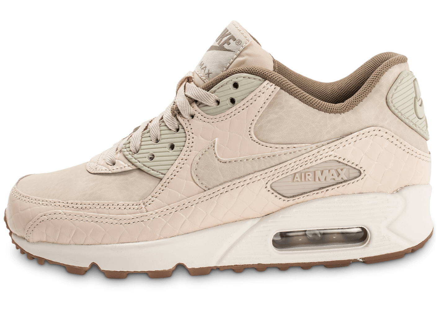 sneakers for cheap b361b 1d4a5 ... free shipping nike air max 90 premium beige chaussures air baskets  femme chausport 73ce2b 707d1 75fdc ...