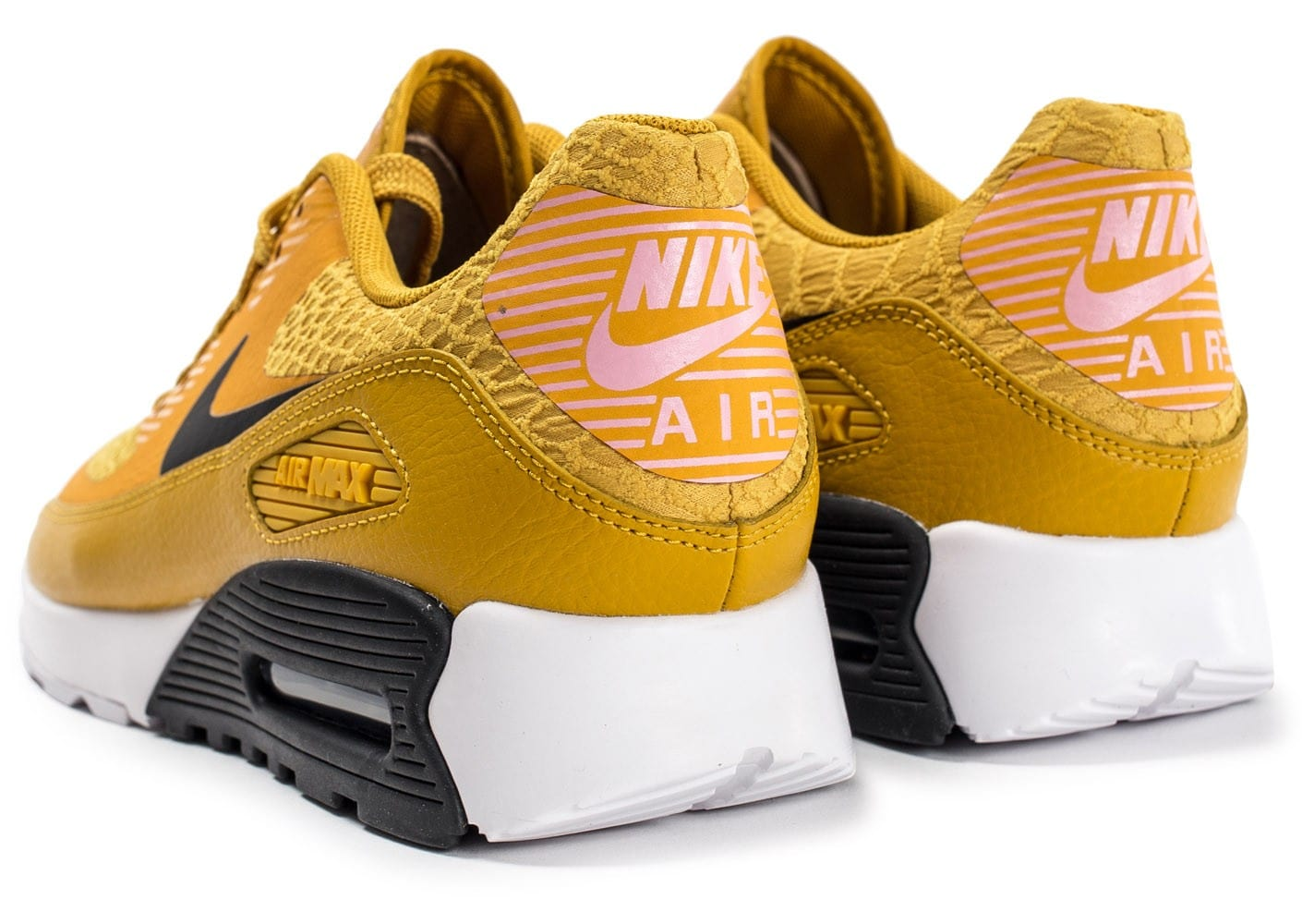 Nike Air Max 90 Ultra 2.0 jaune Chaussures Baskets femme