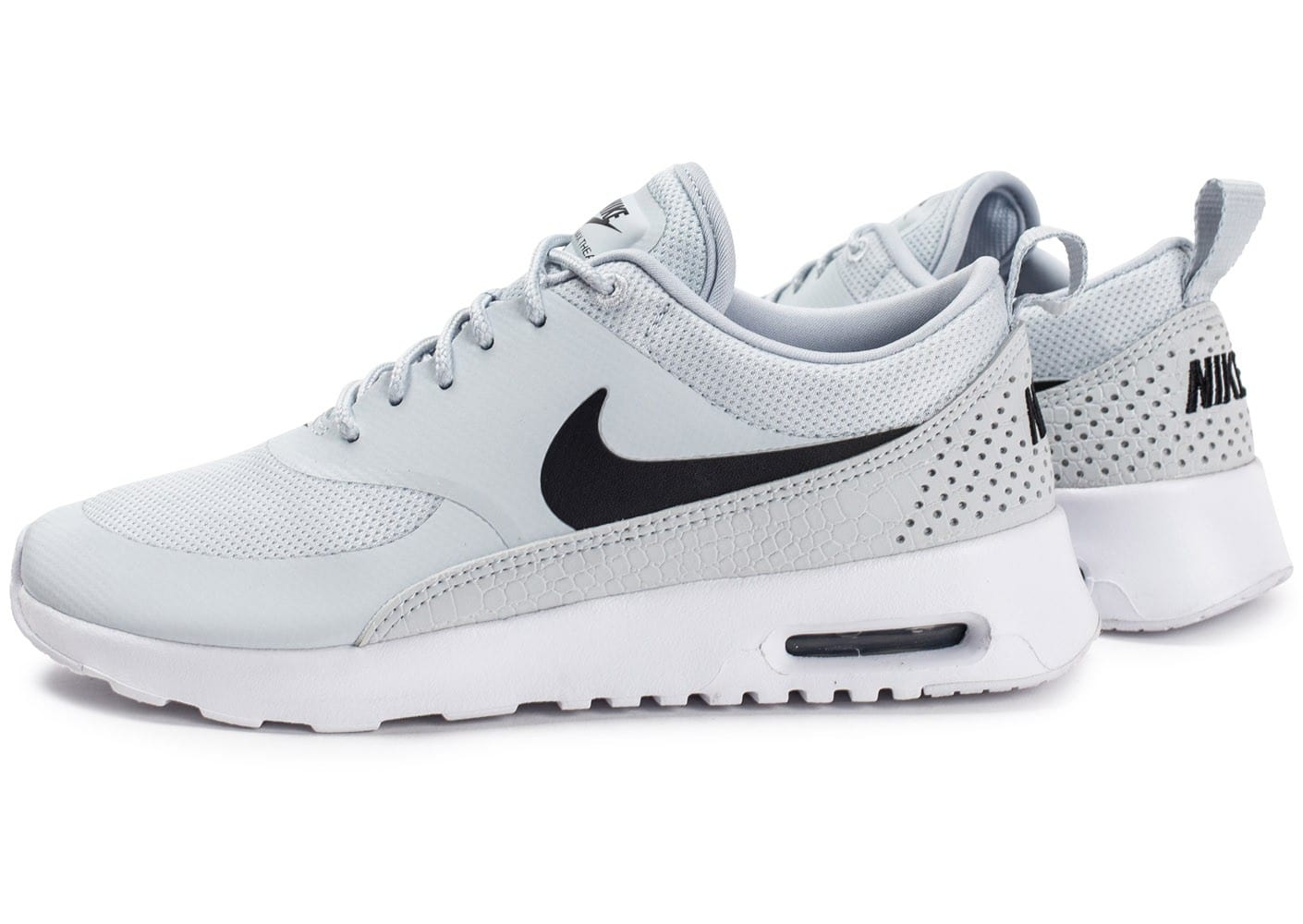 Nike Air Max Thea W grise et noire Chaussures Baskets