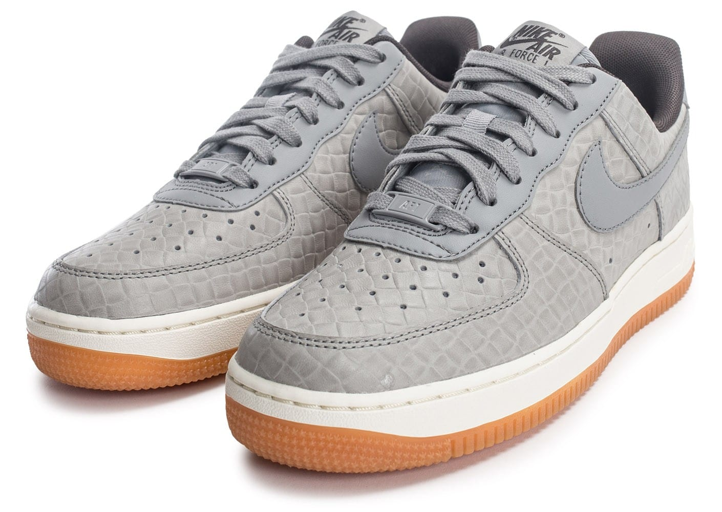 1 Air Chaussures Force Premium Nike W Grise Femme Baskets '07 VqzMSUp