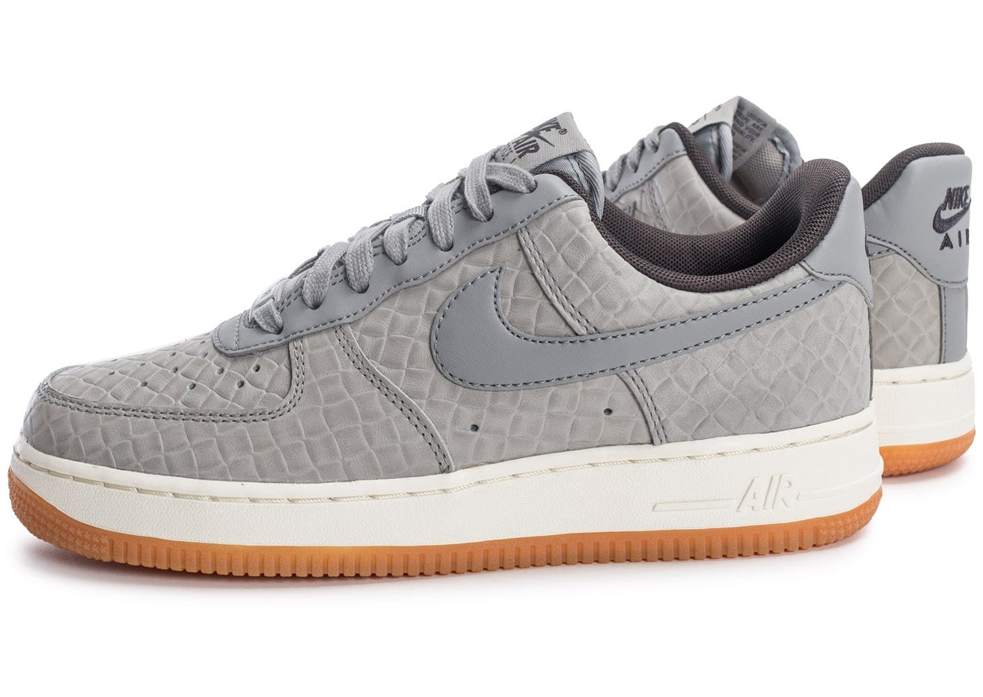 nike air force 1 07 femme grise