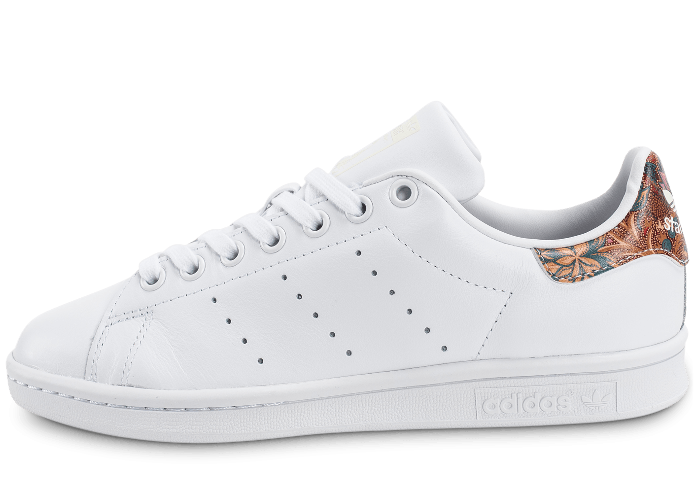 adidas Stan Smith The Farm W Bali blanche - Chaussures adidas - Chausport
