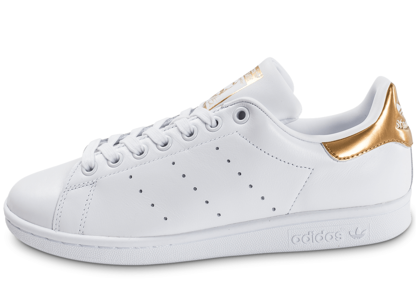 adidas Stan Smith W blanc et or