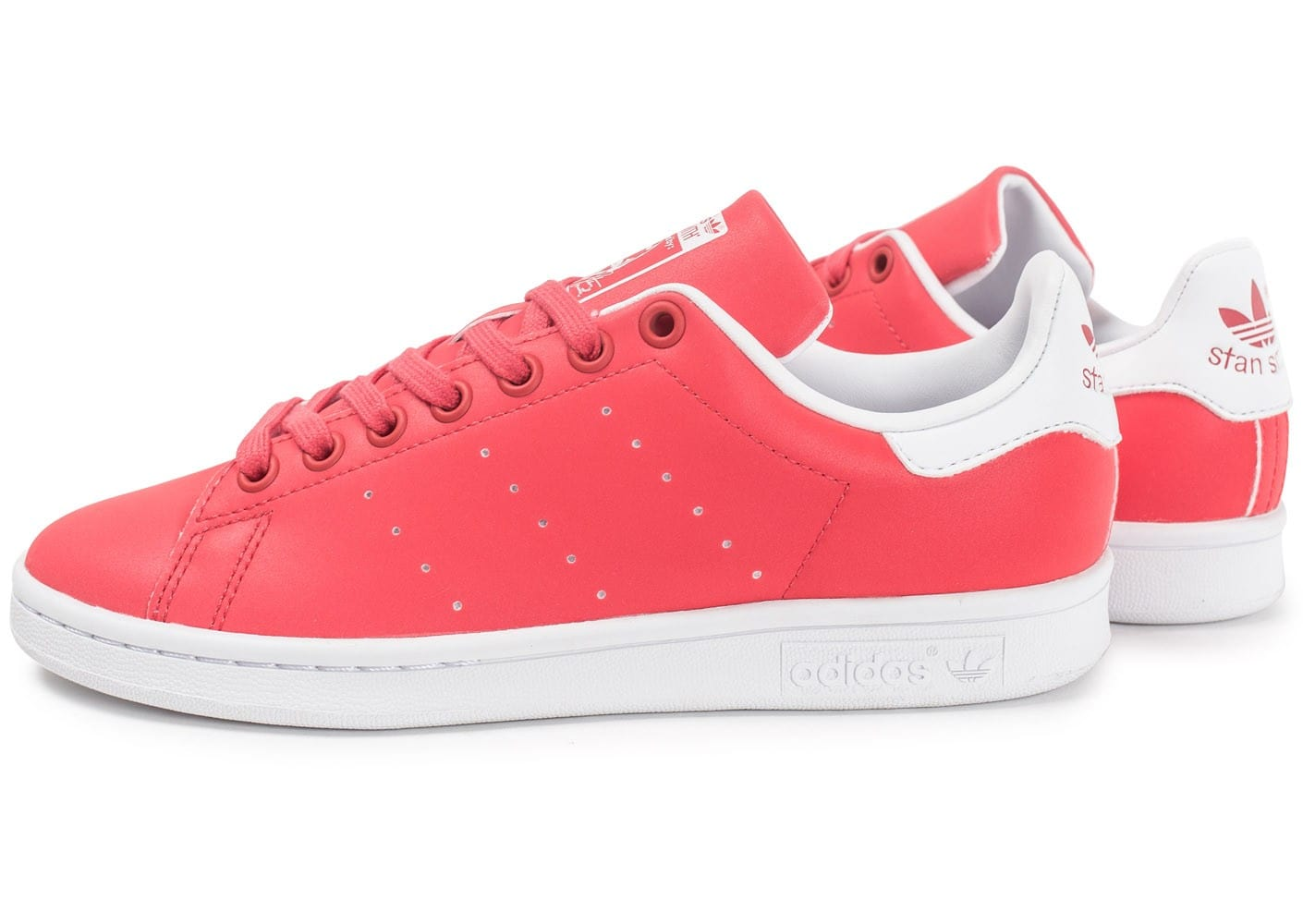 adidas Stan Smith Core pink - Chaussures adidas - Chausport