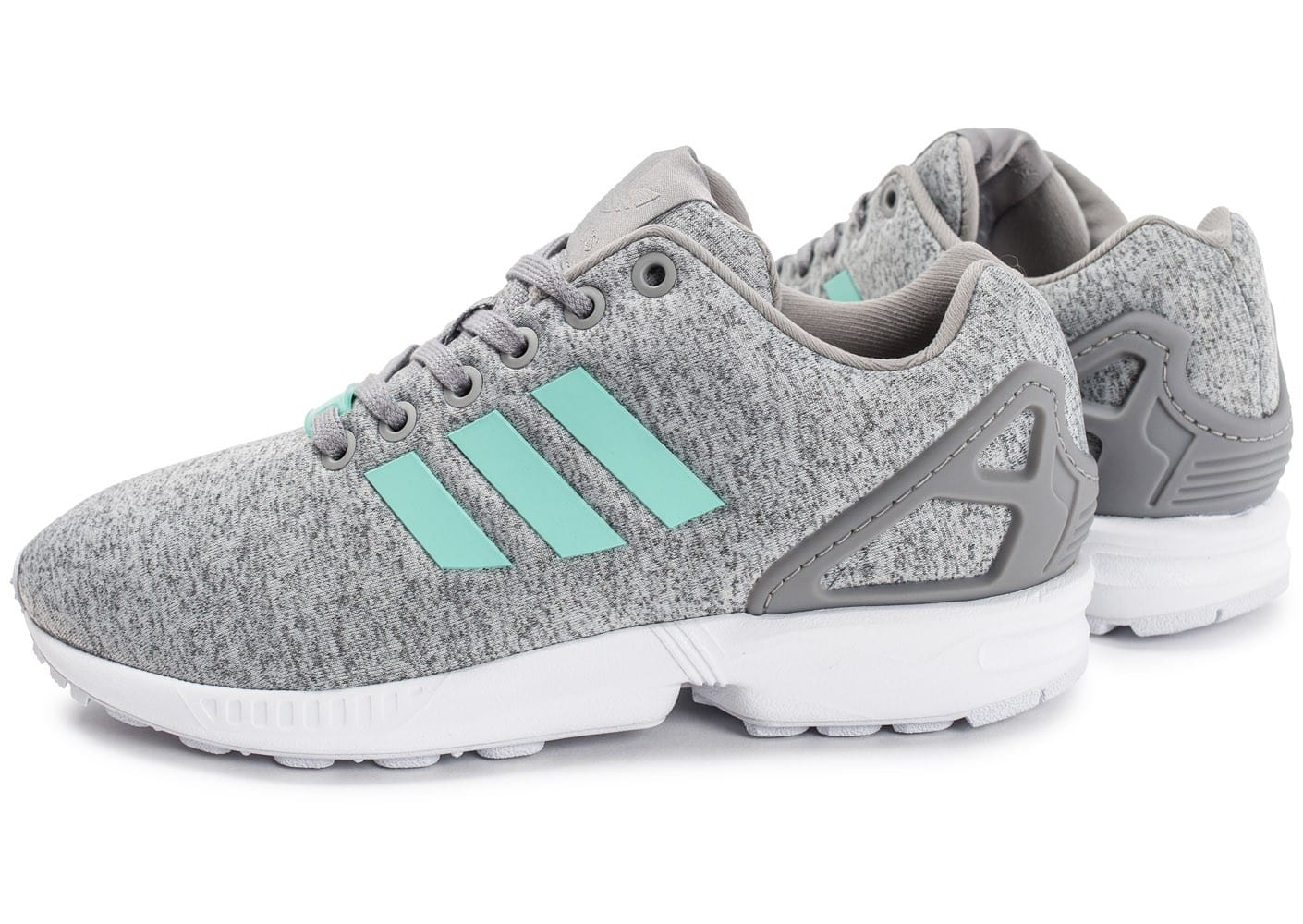 adidas ZX Flux W Mesh grise Chaussures adidas Chausport