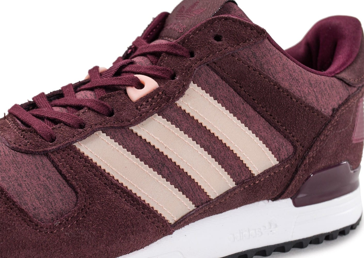adidas ZX 700 W bordeaux Chaussures adidas Chausport