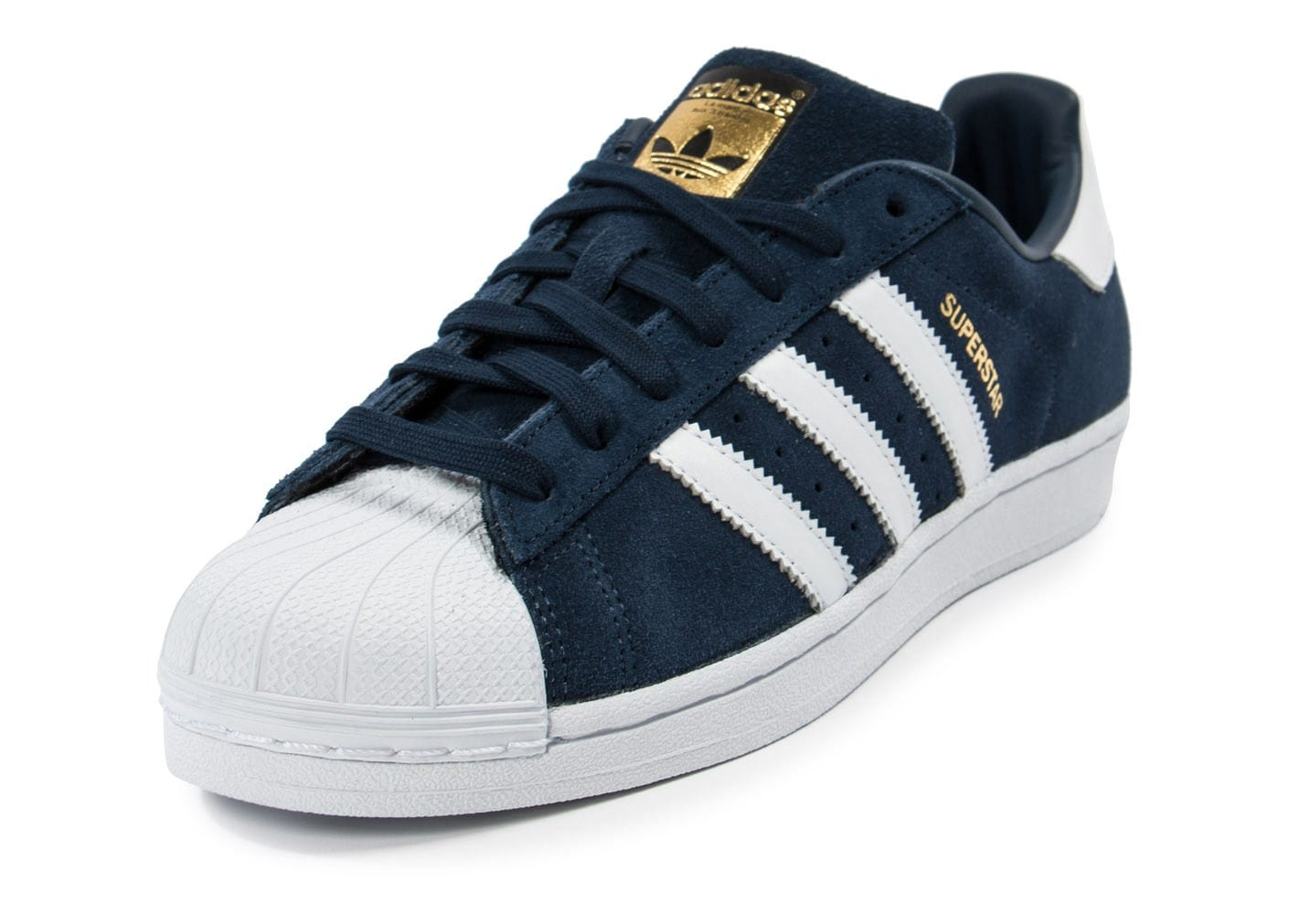 basket adidas superstar bleu