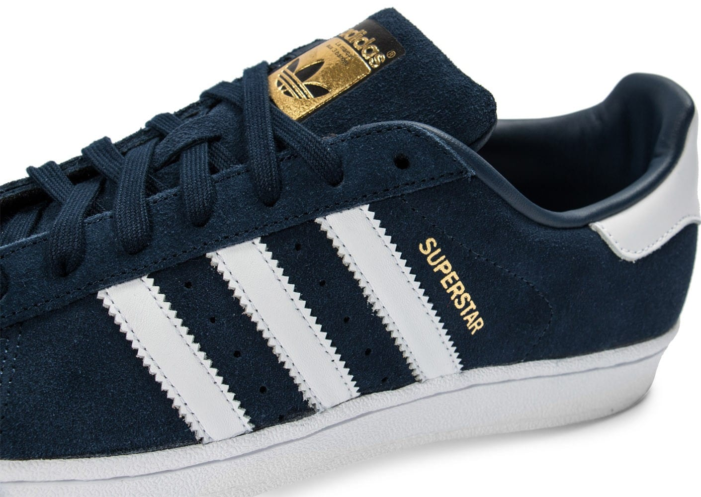 plus récent 9010a 1dc09 discount adidas superstar marine bleu 1542d 9e81c