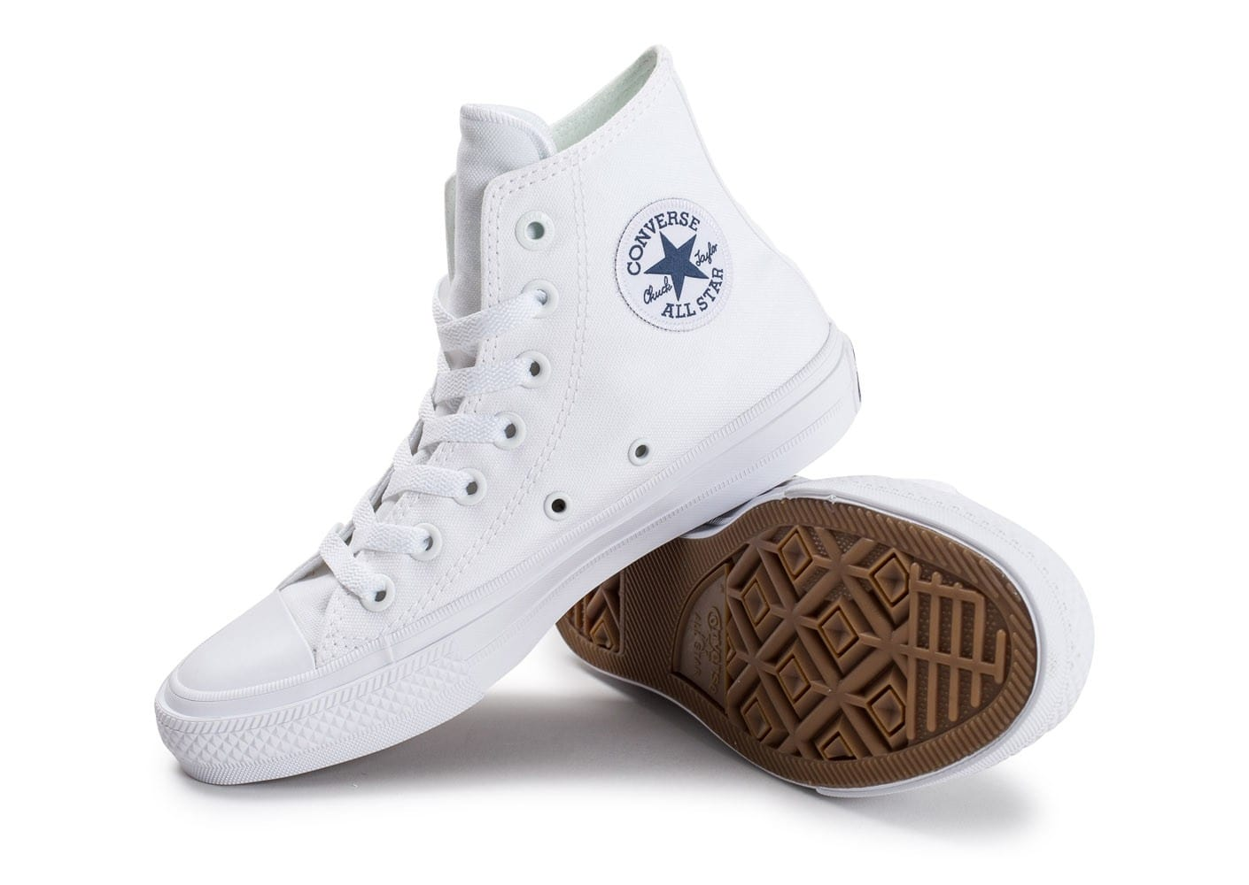 converse all star montante blanche