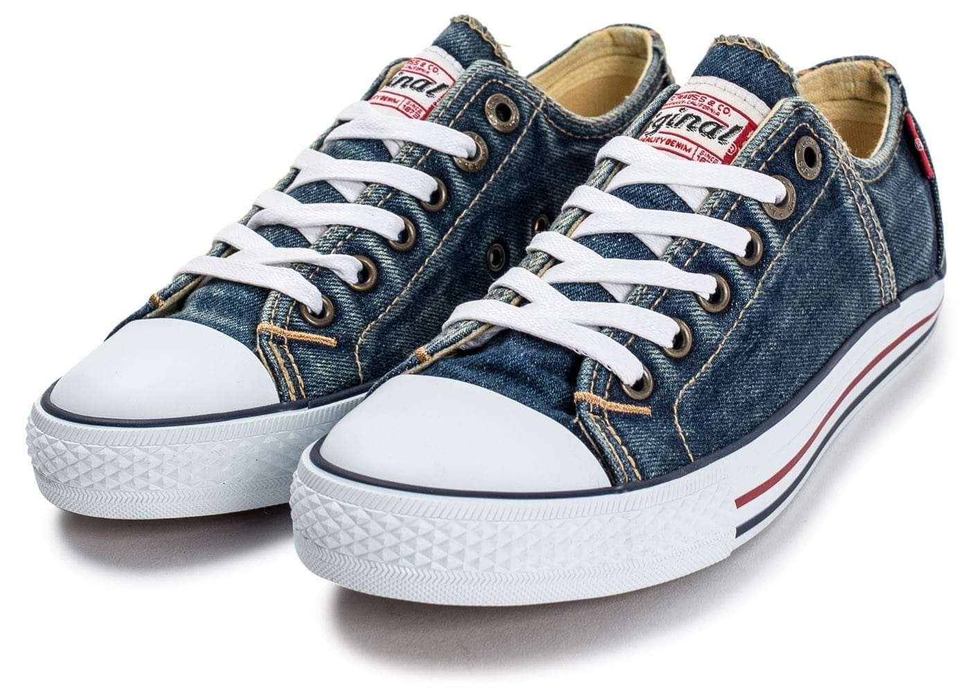 Chaussure Levis (style converse)