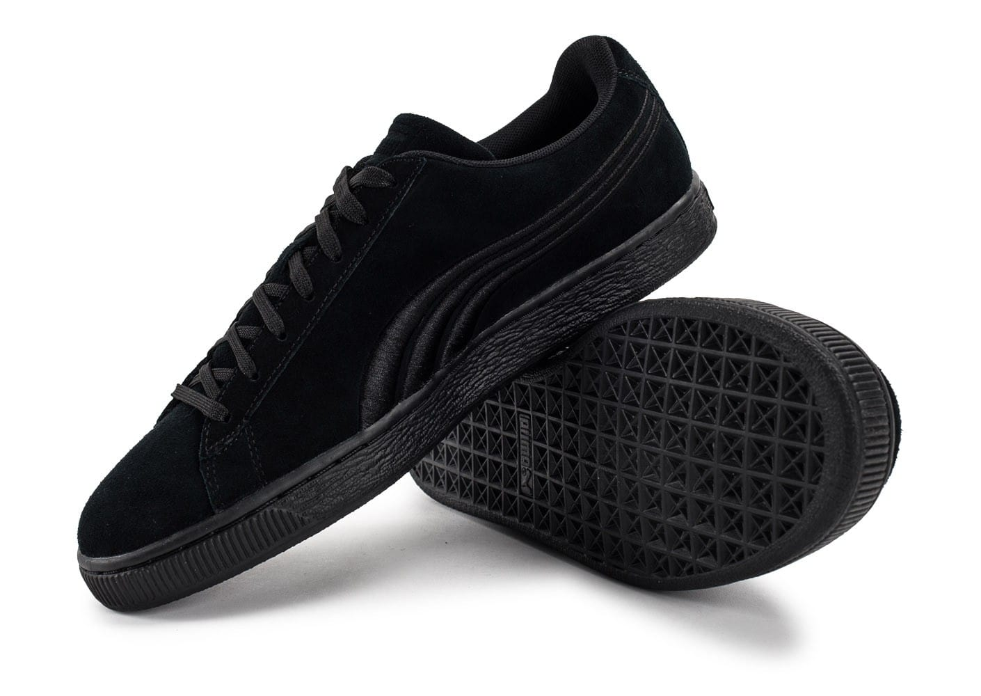 half off 4a243 be574 Badge Classic Baskets noire Chausport Puma homme Chaussures TZzw5wCq