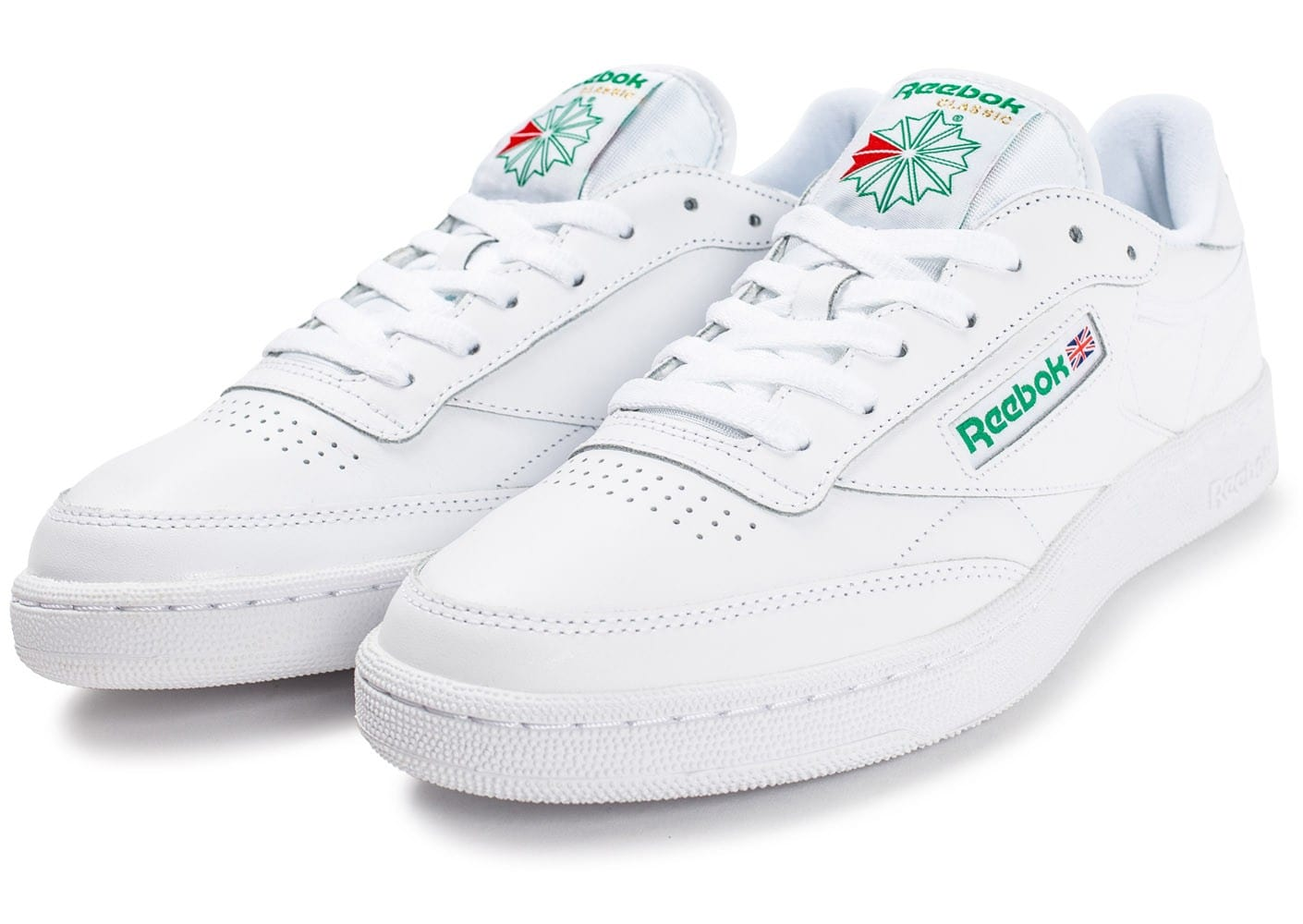 c chausport blanche 85 club reebok CQdtrsh