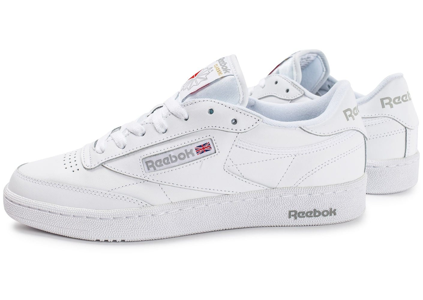 Reebok Sport CLUB C 85 Blanc - Chaussures Baskets basses Homme