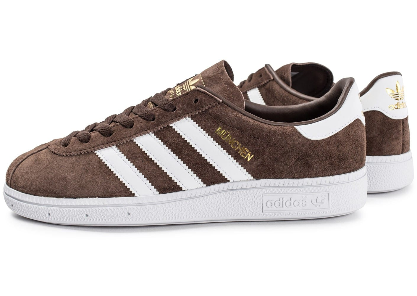chaussure adidas homme marron
