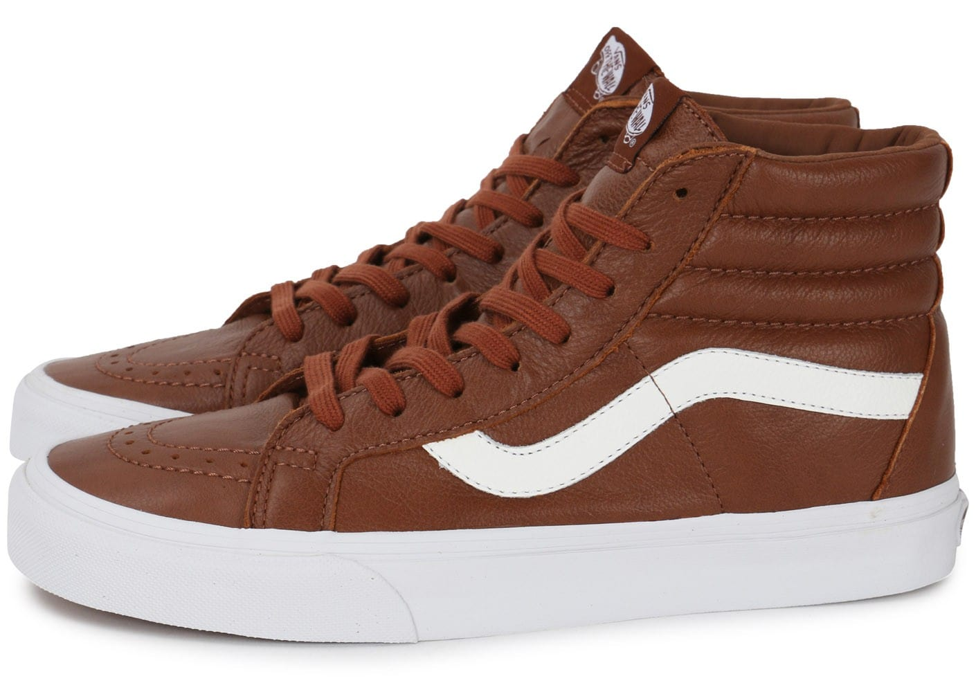 Vans SK8 HI Reissue marron Chaussures Baskets homme