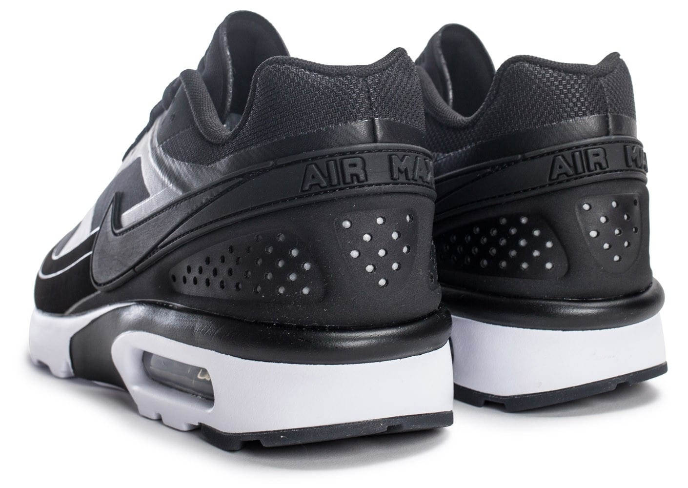 huge discount 28316 98924 ... Chaussures Nike Air Max BW Ultra Leather anthracite vue dessous ...