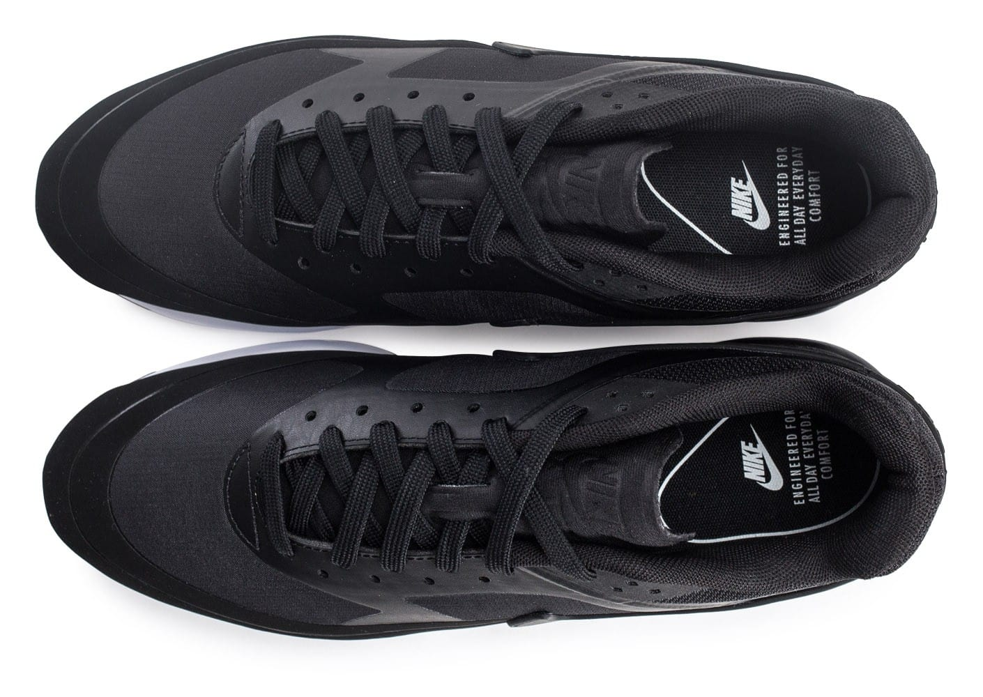 timeless design 50e35 6c354 ... Chaussures Nike Air Max BW Ultra Leather anthracite vue arrière ...