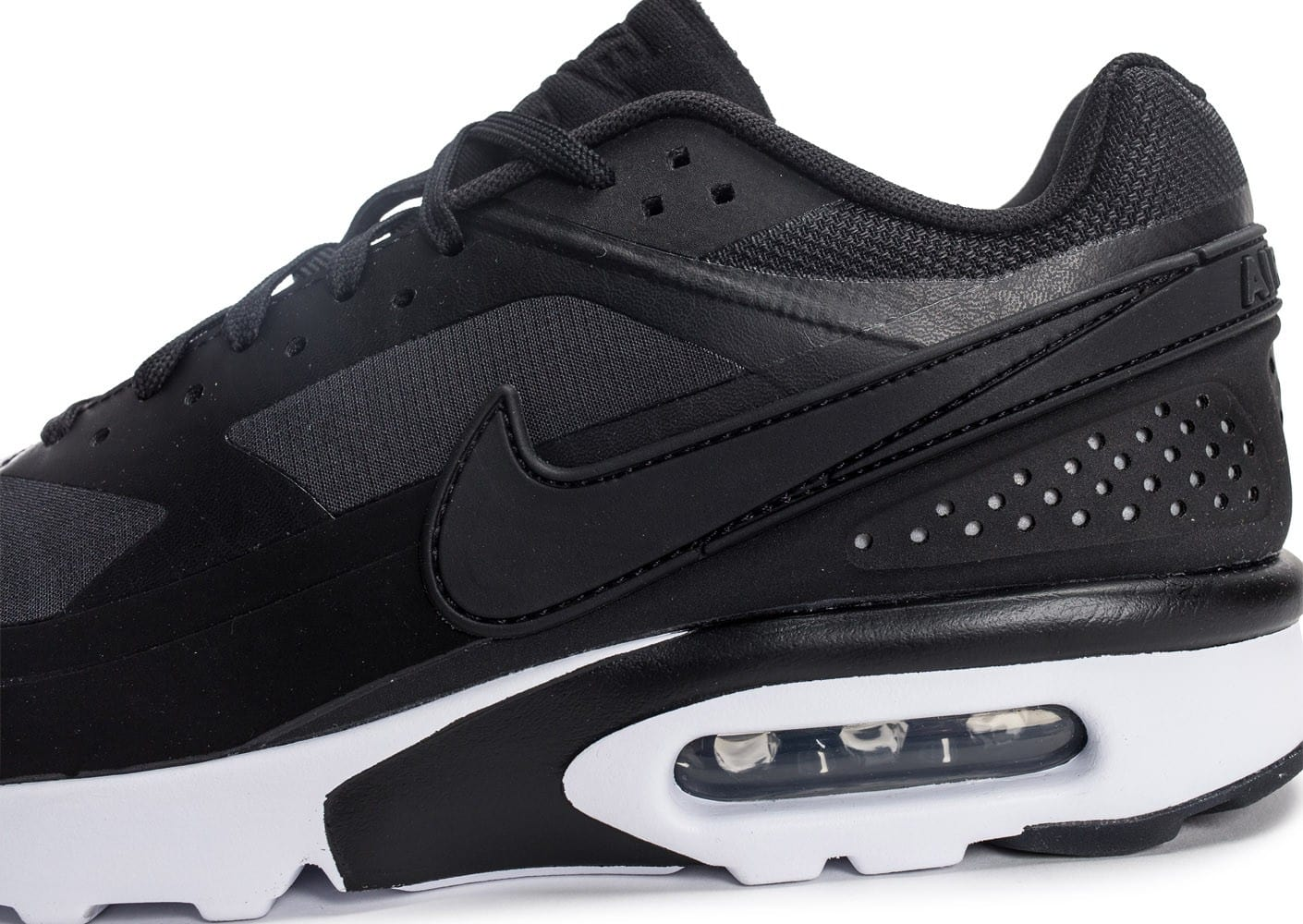 lowest price b3b72 30948 ... Chaussures Nike Air Max BW Ultra Leather anthracite vue dessus