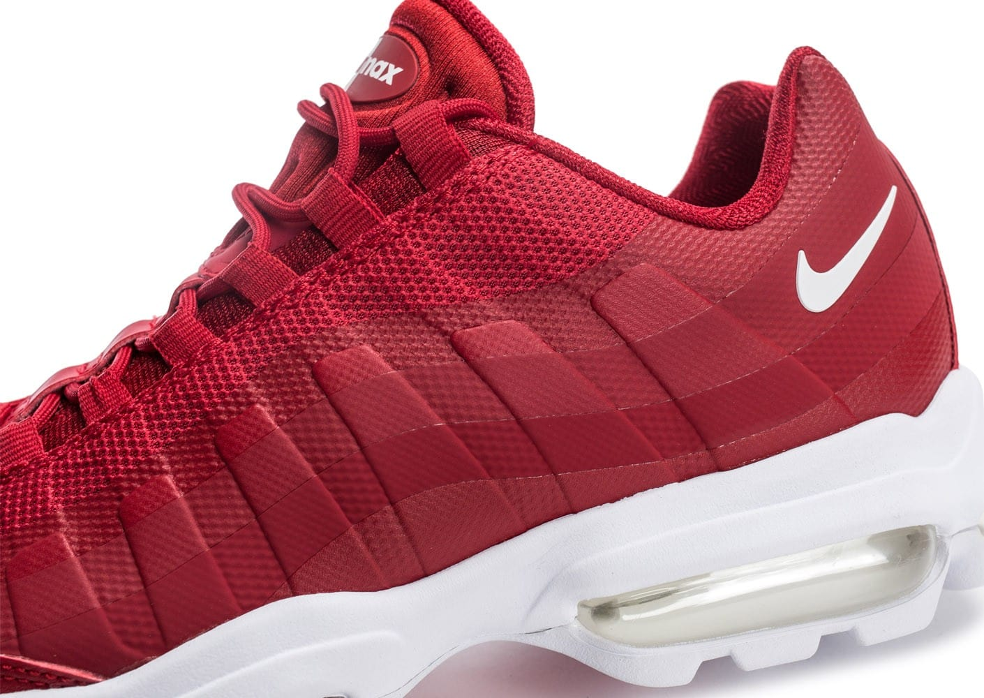 Nike Air Max 95 Ultra Se rouge Chaussures Baskets homme