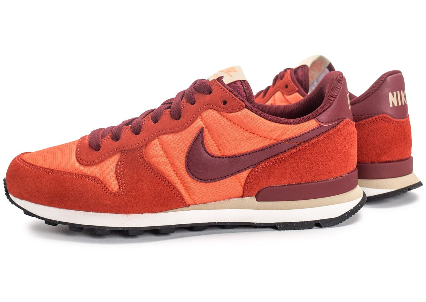 Baskets Chausport Homme Internationalist Chaussures Nike Orange 8OZwnPkXN0