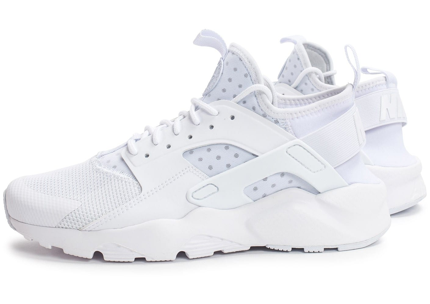 Nike Air Huarache Run Ultra Cool blanc - Chaussures Baskets ...
