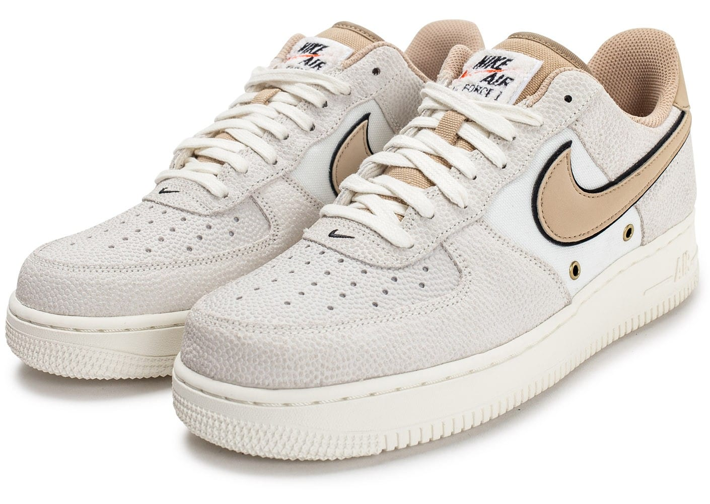 Homme Air '07 Baskets Lv08 Chaussures Nike 1 Force Beige Chausport cTF1KJl3