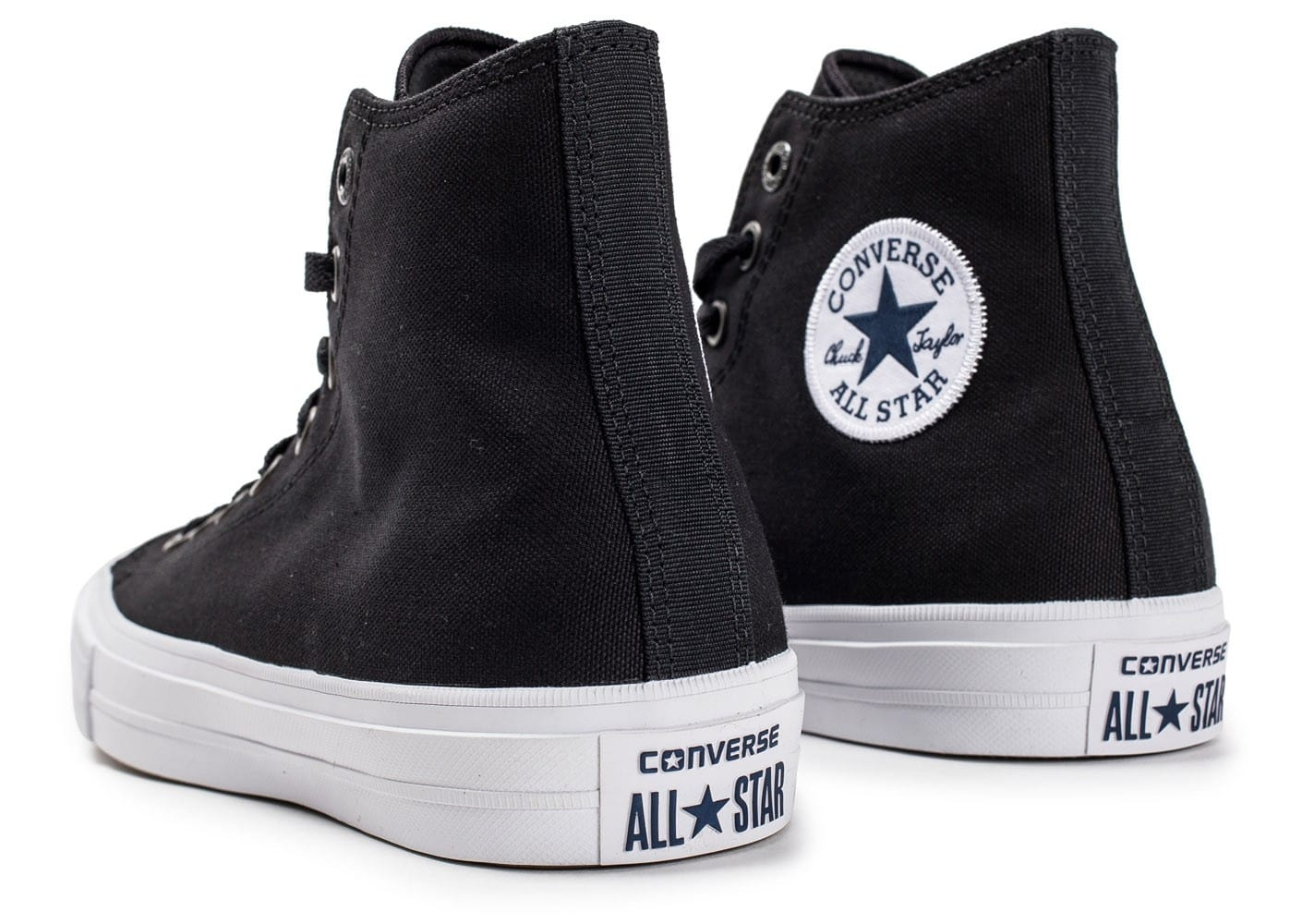 ... Chaussures Converse Chuck Taylor All-Star 2 Montante noire vue dessous  ... 397aa44823f9
