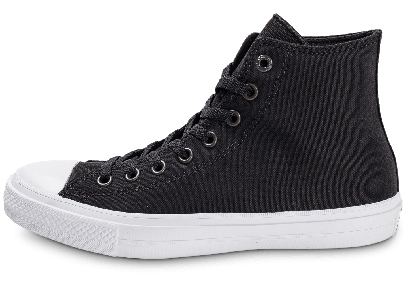 Converse Chuck Taylor All-Star 2 Montante noire - Chaussures Baskets homme  - Chausport 4a3f2aac697d