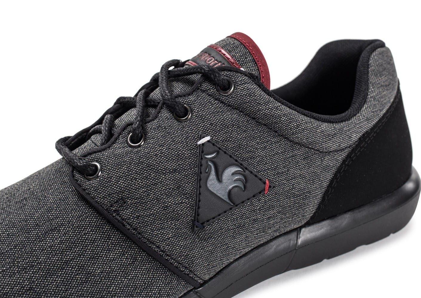Dynacomf 2 Tones Noir Anthracite Le Coq Sportif Baskets/Running HommeLe Coq Sportif kAARG