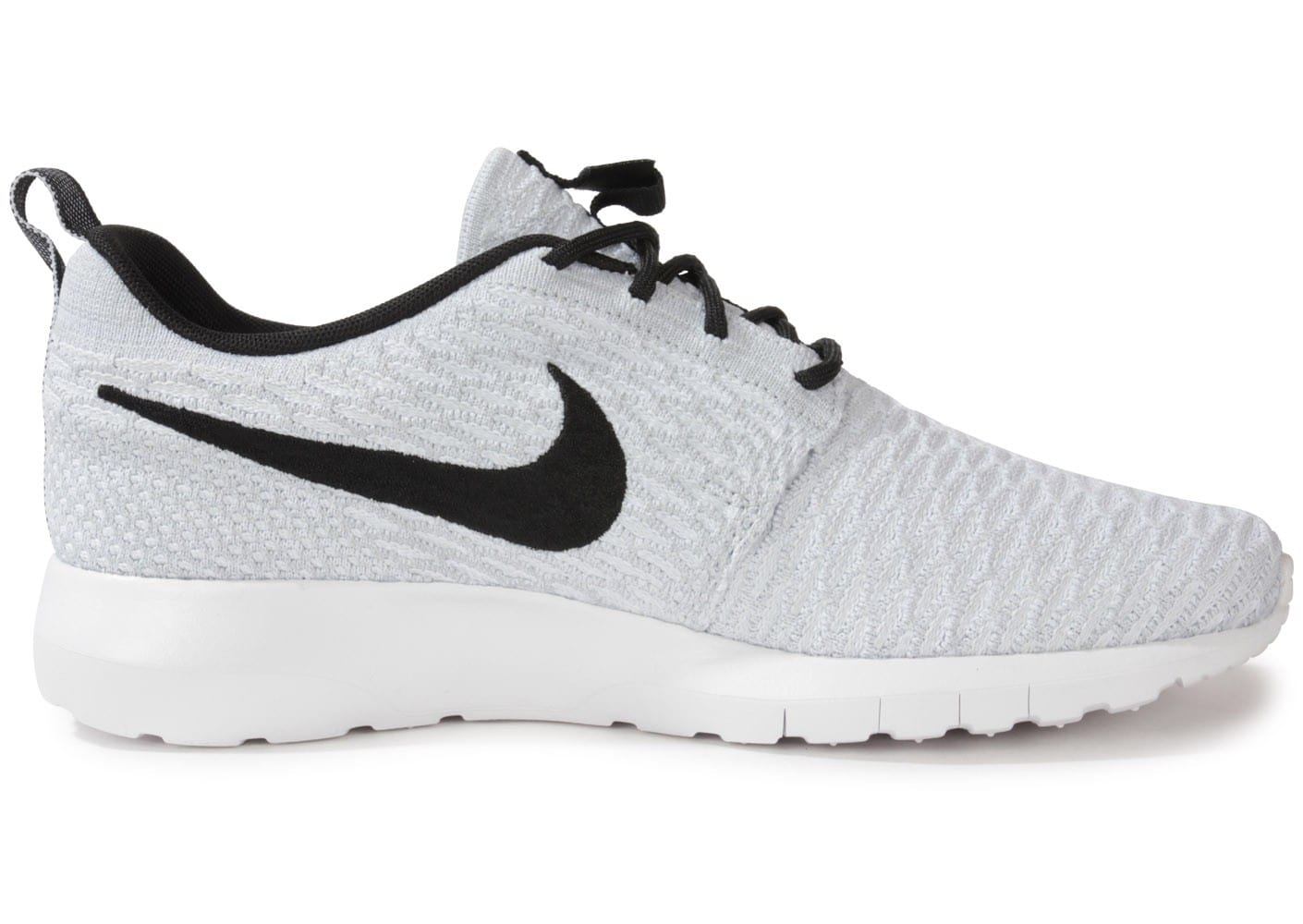 size 40 1c59a 081c7 Nike Blanche Homme Chausport Roshe Chaussures Flyknit Run Baskets rpxwrYqtU
