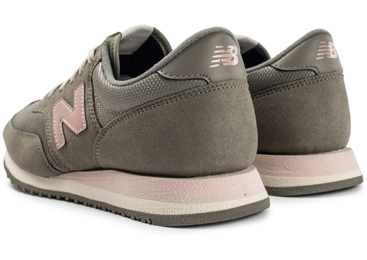 new balance kaki rose