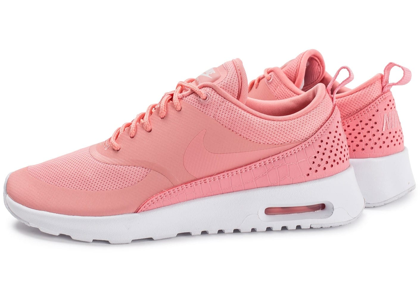 Nike Air Max Thea W rose Chaussures Baskets femme Chausport