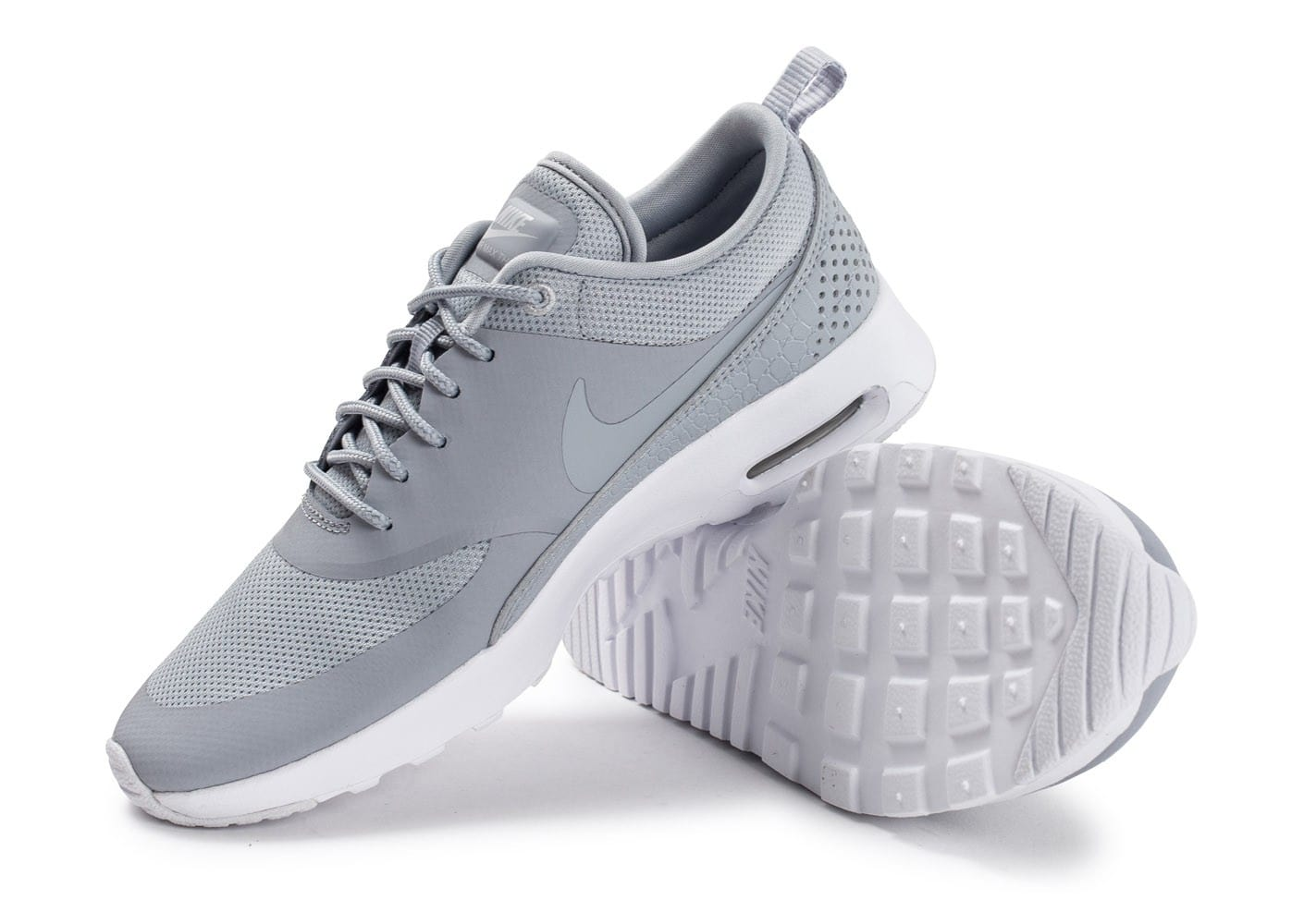 sports shoes 25252 2f2c5 ... Chaussures Nike Air Max Thea W grise vue avant ...